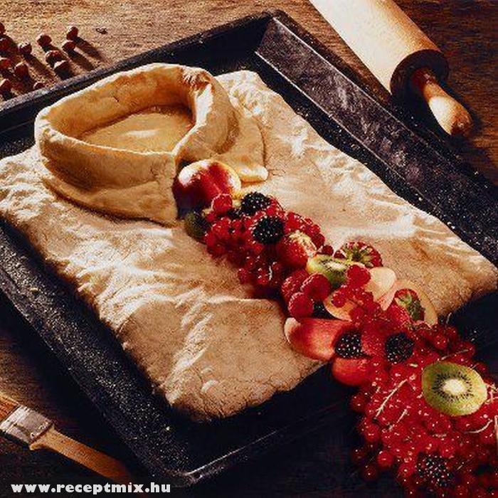 Ing tésztából, nyakkendõ gyümölcsbõl