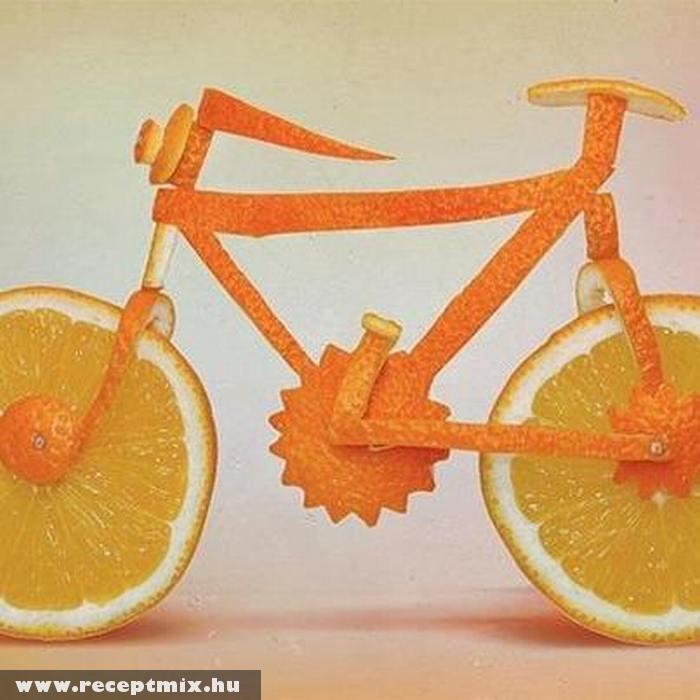 Bicikli narancsból
