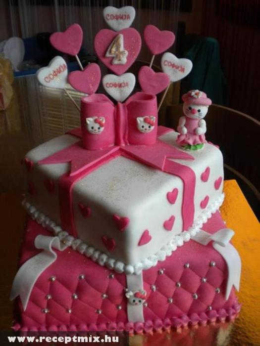 Hello Kitty-s torta