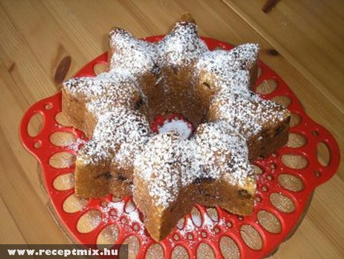 Csillag alakú kuglóf