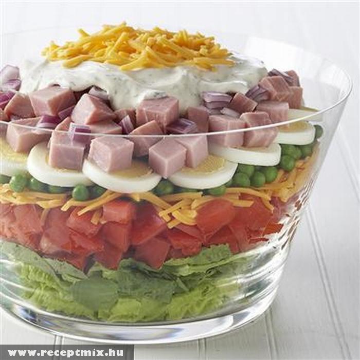Hatalmas salátás tál