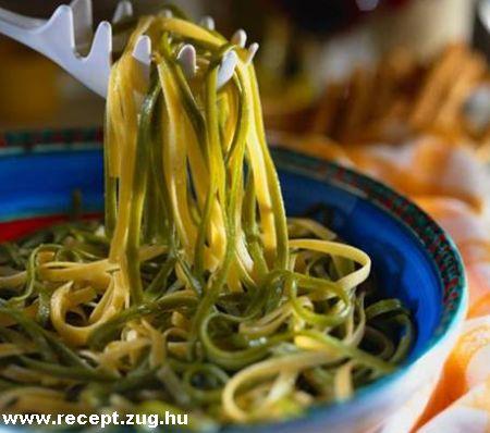 Olasz zöld tészta