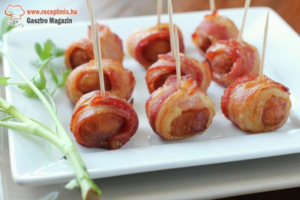 Baconös falatok