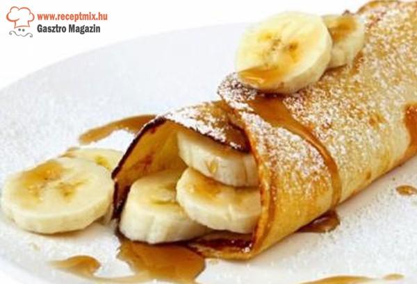 Banános palacsinta
