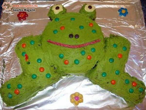 Béka torta