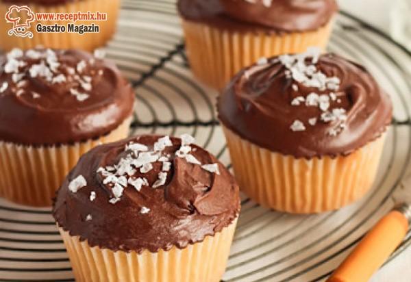 Csokikrémes muffinok