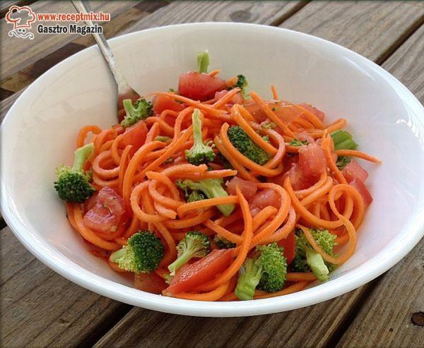 Egy kis zöldségsaláta