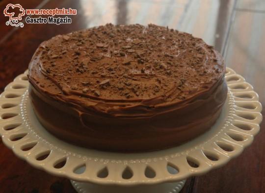 Házi készítésű csokitorta
