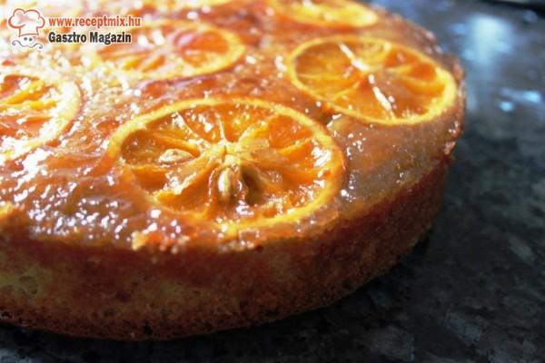 Házi narancsos torta