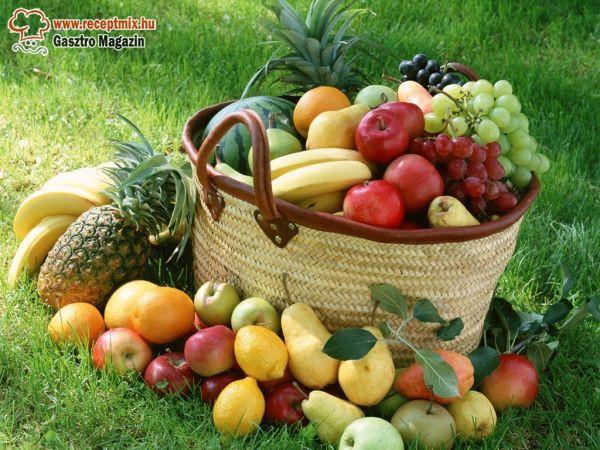 Jó kis gyümölcskosár