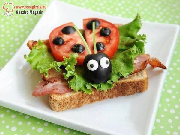 Katicás szendvics