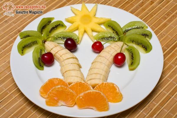 Kreatív gyümölcsfa