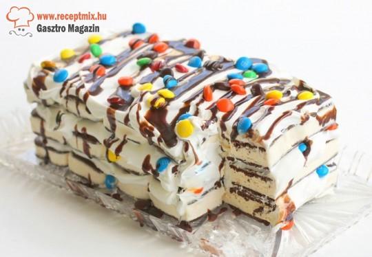 M&M-es jégkrém