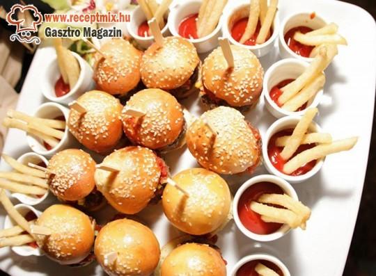 Mini hamburgerek