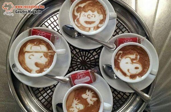 Mintás kávék