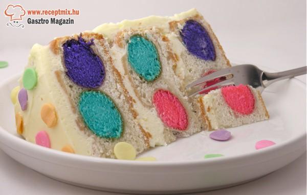 Pöttyös torta