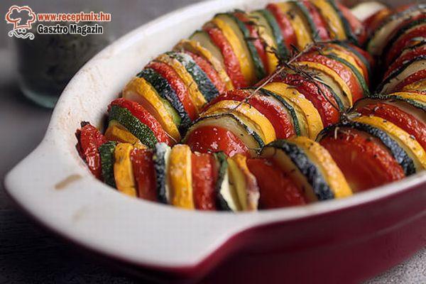 Rakott-sült zöldségek