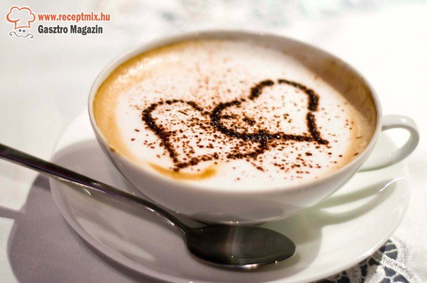 Szívecskés kávé