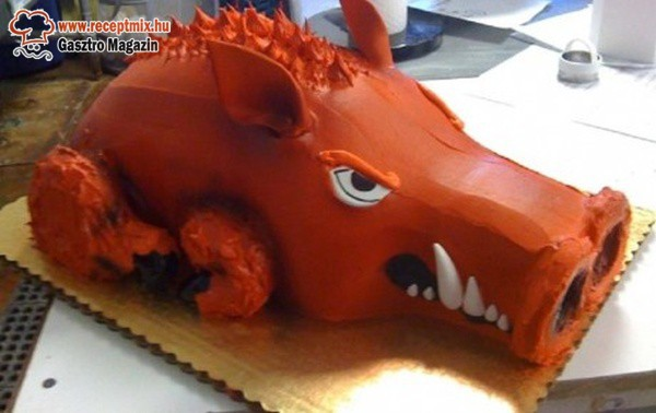 Vaddisznó torta