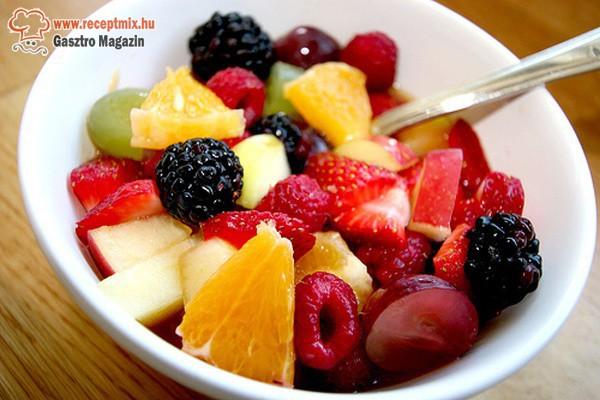 Vegyes gyümölcssaláta