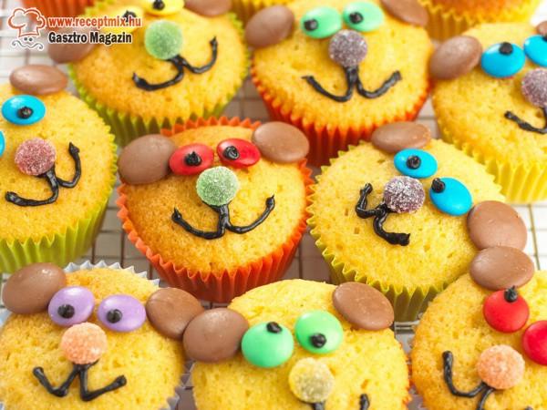 Vidám muffinok