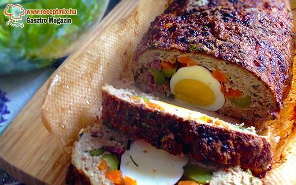 Zöldséges tojásos fasírt
