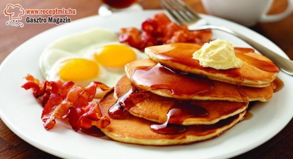 Palacsintás reggeli