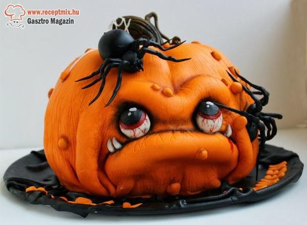 Halloween-i töktorta
