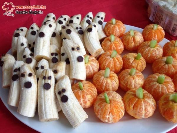 Halloween-i gyümölcsök