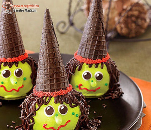 Boszorkányos halloween sütik