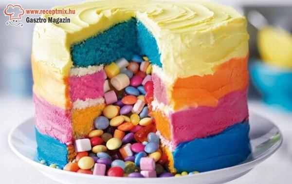 Töltött torta