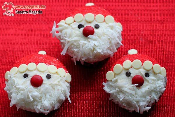 Mikulás muffin