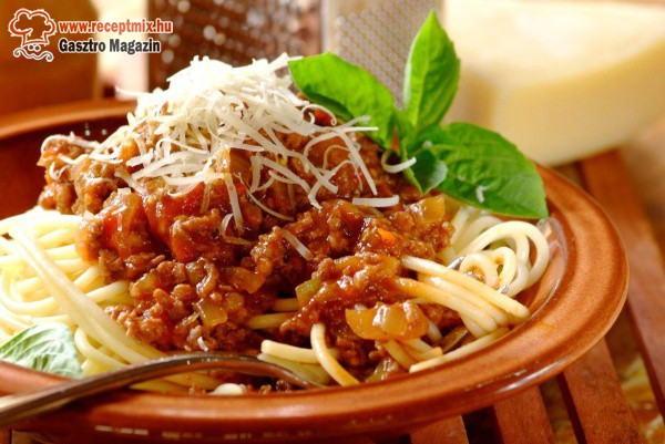 Gyors, olcsó, finom: bolognai spagetti