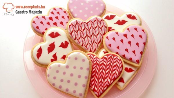 Valentin-napi süti
