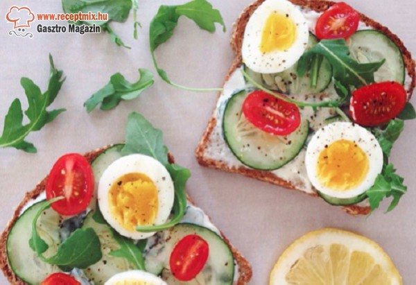 Tavaszi szendvics