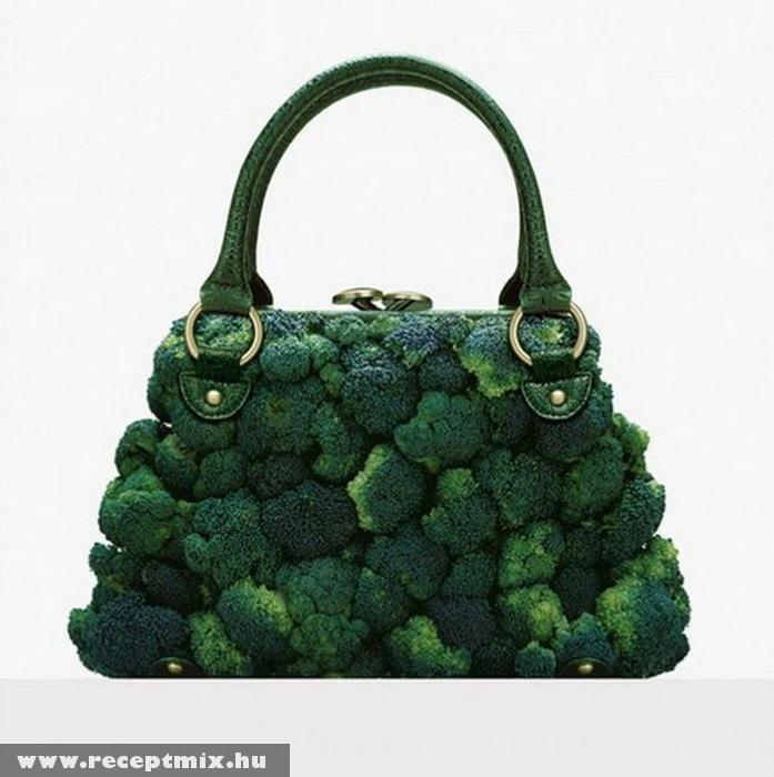 Brokkoli táska