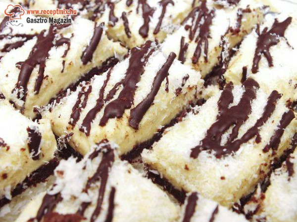 Csokis kókusztorta, diétás
