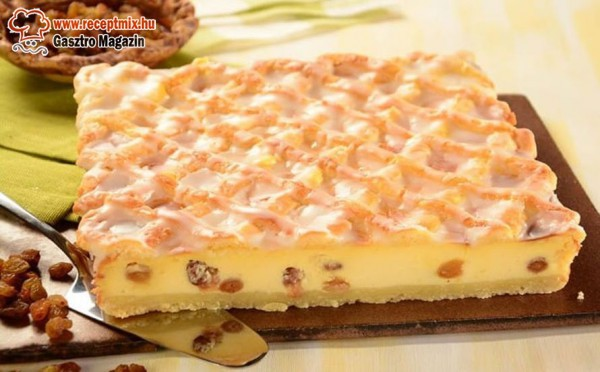 Krémes - túrós süti