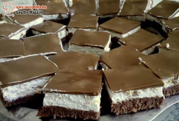 Habos - csokis kocka