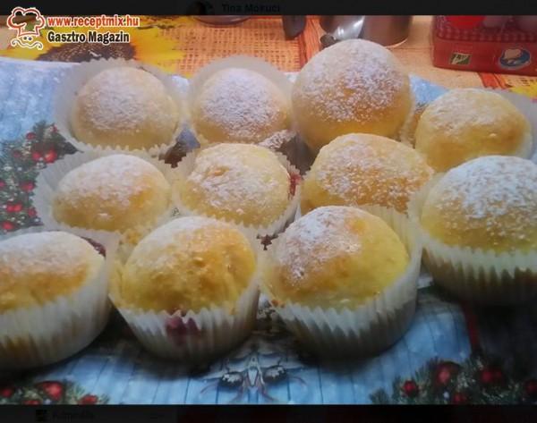 Muffin, lekváros