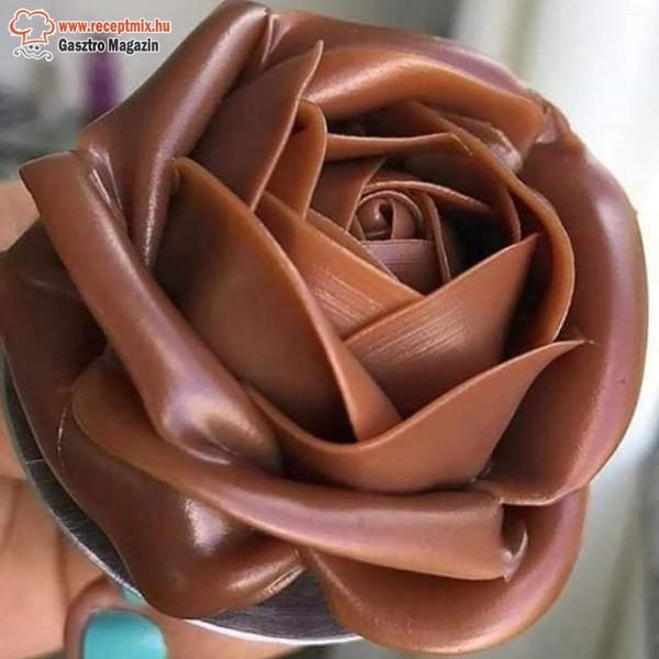 Karamella virág