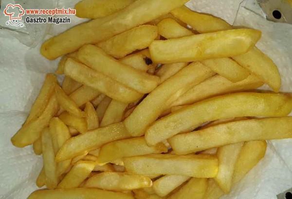 Sült krumpli, hasábburgonya