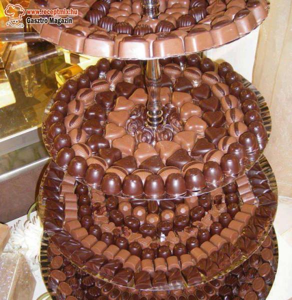 Csoki - bon bon tál