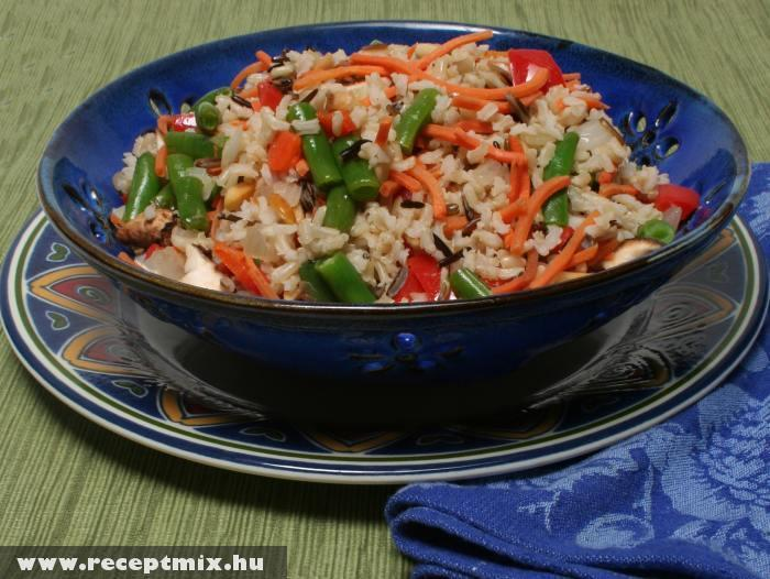 Zöldséges rizs