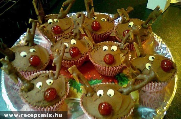 Rénszarvas muffinból
