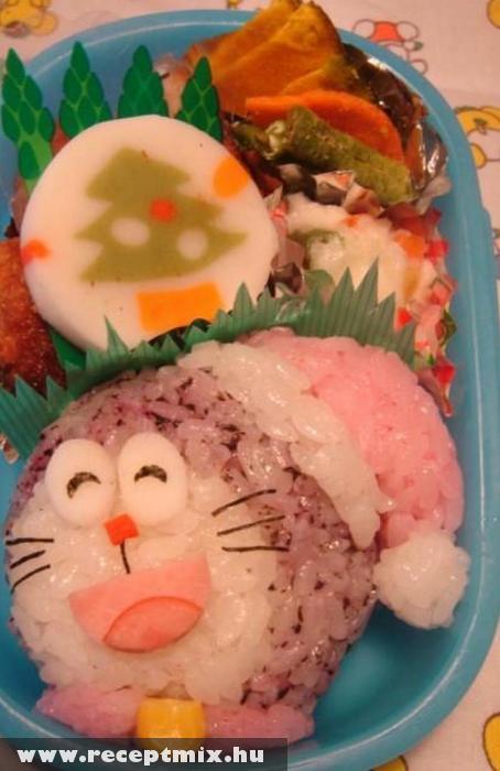 Rizsbõl mintás étel