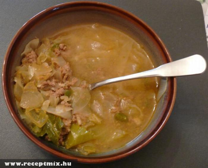 Káposztás leves