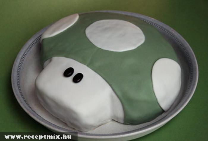 Gomba formájú torta