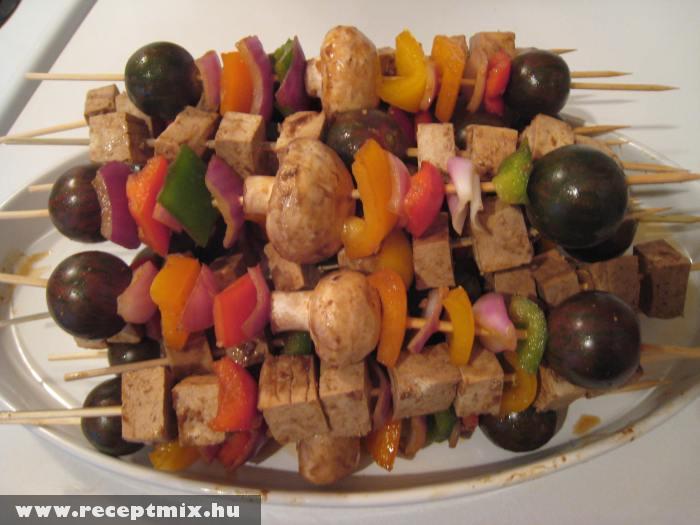 Nyárson sült zöldségfélék