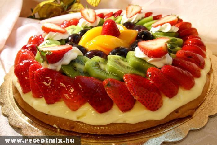 Gyümölcsborítású pite